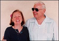 Kathleen Portalski Hensley and her father Jim Hensley