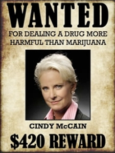 Poster by a California Medical Marijuana Advocacy Group